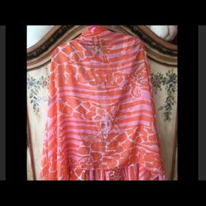 GIRAFFING ME CRAZY Scarf Lilly Pulitzer Target
